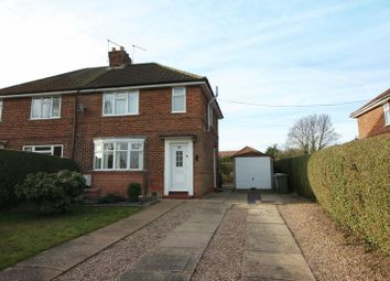 Thumbnail 3 bedroom semi-detached house to rent in Town Street, Lound, Retford