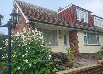 Thumbnail 3 bed semi-detached bungalow for sale in Back Street, Ringwould, Deal