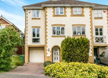 Thumbnail 3 bedroom town house for sale in Coltsfoot Close, Burghfield Common, Reading