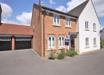 Thumbnail 3 bed semi-detached house to rent in Coleridge Drive, Whiteley, Fareham