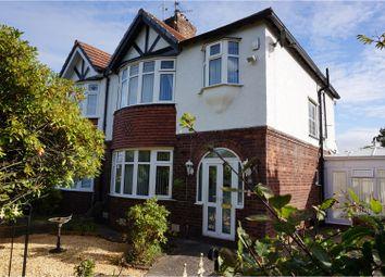Thumbnail 3 bed semi-detached house for sale in Noctorum Avenue, Prenton