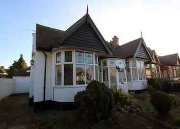 Thumbnail 3 bed bungalow for sale in Levett Gardens, Ilford