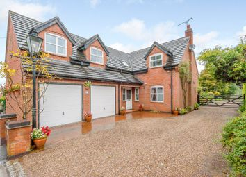 Thumbnail 4 bed detached house for sale in Main Street, Peckleton, Leicestershire