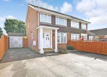 Thumbnail 3 bed semi-detached house for sale in Ashcroft Road, Paddock Wood, Tonbridge, Kent