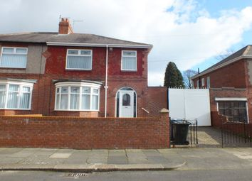 Thumbnail 3 bed semi-detached house for sale in Newminster Road, Fenham, Newcastle Upon Tyne
