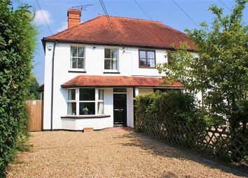 Thumbnail 3 bed semi-detached house for sale in Broadmoor Road, Waltham St. Lawrence, Reading