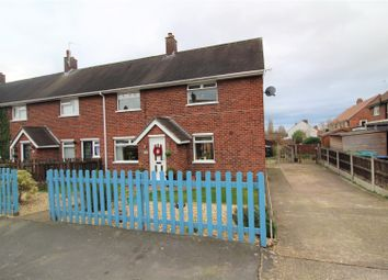 Thumbnail 3 bed end terrace house for sale in The Groves, Marchwiel, Wrexham