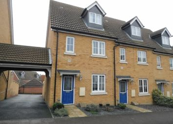 Thumbnail 3 bed end terrace house for sale in Partridge Close, Stowmarket