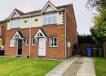 Thumbnail 2 bed semi-detached house for sale in Langton Drive, Cramlington