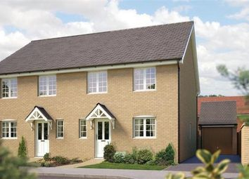 Thumbnail 4 bedroom detached house for sale in Off Silfield Road, Wymondham, Norfolk