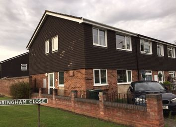 Thumbnail 3 bed end terrace house for sale in Sandringham Close, Malvern Worcestershire