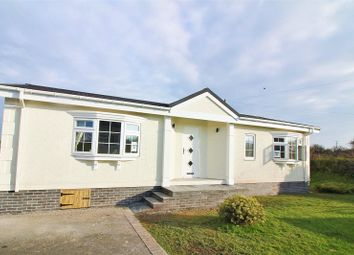 Thumbnail 2 bed mobile/park home for sale in Scamford Park, Camrose, Haverfordwest, Pembrokeshire.