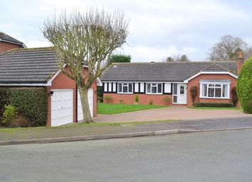 Thumbnail 3 bed bungalow for sale in Henderson Close, Lichfield