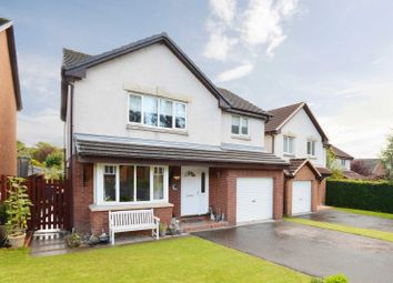 Thumbnail 4 bed detached house for sale in Columbia Avenue, Livingston, West Lothian