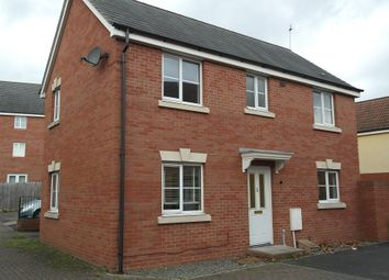 Thumbnail 3 bed detached house to rent in Mayflower Drive, Saxon Gate, Hereford.