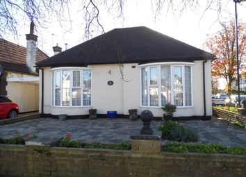 Thumbnail 2 bed detached bungalow for sale in Manor Way, Bush Hill Park