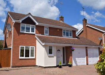 Thumbnail 4 bedroom detached house for sale in Walkers Way, South Bretton, Peterborough