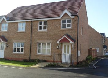 Thumbnail 3 bed semi-detached house for sale in Spire Close, Lincoln