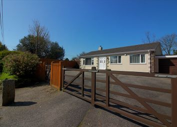 Thumbnail 4 bed bungalow for sale in Bugle, St. Austell