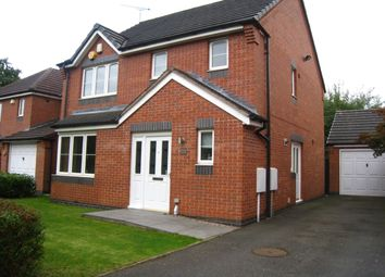 Thumbnail 3 bed detached house for sale in Lucerne Close, Aldermans Green, Coventry