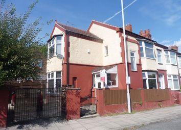Thumbnail 3 bed end terrace house for sale in Singleton Avenue, Birkenhead
