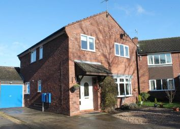 Thumbnail 4 bed detached house for sale in Fenwick Close, Alcester