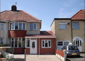 Thumbnail 3 bedroom semi-detached house to rent in Probert Road, Wolverhampton
