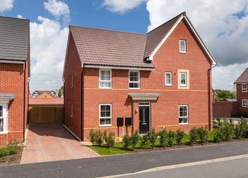 "Thumbnail 3 bed semi-detached house for sale in ""Finchley"" at Huntingdon Road, Thrapston, Kettering"