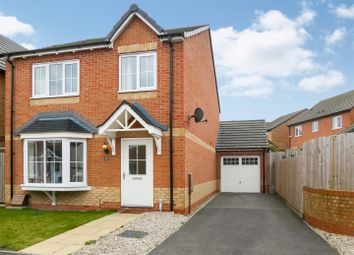 Thumbnail 4 bed detached house for sale in Oakway Drive, Woodville, Swadlincote