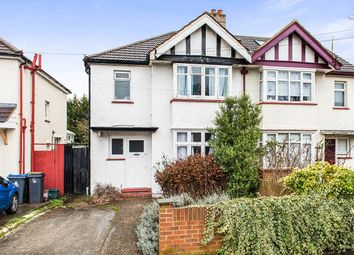 Thumbnail 4 bed semi-detached house for sale in Kingsmead Avenue, Tolworth, Surbiton