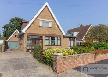 Thumbnail 3 bedroom detached house for sale in Evans Drive, Lowestoft