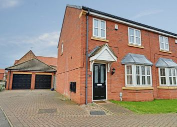 Thumbnail 3 bedroom semi-detached house for sale in Pools Brook Park, Kingswood, Hull