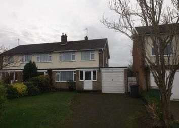 Thumbnail 3 bed semi-detached house for sale in Fullwell Road, Bozeat, Wellingborough, Northamptonshire
