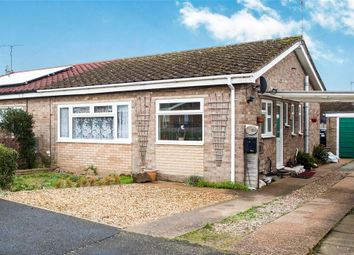 Thumbnail 2 bedroom semi-detached bungalow for sale in Sydney Dye Court, Sporle, King's Lynn