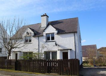 Thumbnail 2 bed semi-detached house for sale in 16, Manse Road, Kinlochbervie, Sutherland