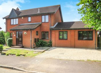 Thumbnail 4 bedroom detached house for sale in Milesmere, Two Mile Ash, Milton Keynes