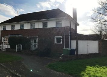 Thumbnail 3 bed semi-detached house for sale in Meadoway, Bishops Cleeve, Cheltenham, Gloucestershire