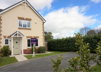 Thumbnail 3 bed semi-detached house for sale in Cae Winefride, St. Asaph