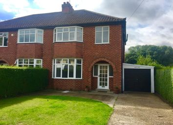 Thumbnail 3 bed semi-detached house to rent in Raskelf Road, Easingwold