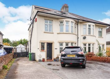 Thumbnail 4 bed semi-detached house for sale in Insole Place, Llandaff