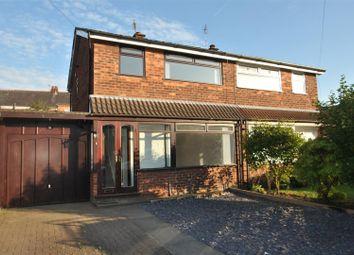 Thumbnail 3 bed semi-detached house to rent in Evesham Close, Stockton Heath, Warrington