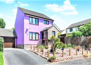 Thumbnail 3 bed detached house for sale in Fernworthy Park, Copplestone, Crediton