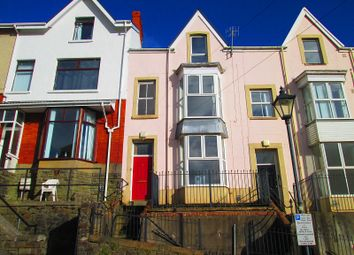 Thumbnail 3 bed terraced house for sale in Constitution Hill, Swansea, City And County Of Swansea.