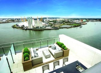 Thumbnail 2 bed flat for sale in Horizons Tower, Yabsley Street, Canary Wharf, London