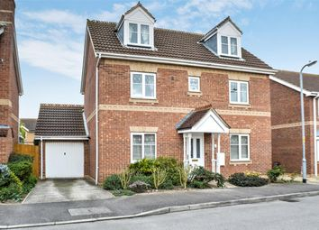 Thumbnail 4 bed detached house for sale in Chapman Road, Sleaford