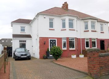Thumbnail 4 bed semi-detached house for sale in Adamton Road North, Prestwick