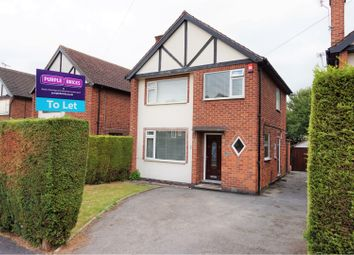 Thumbnail 3 bed detached house to rent in Lancaster Avenue, Nottingham