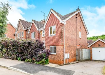 Thumbnail 4 bed detached house for sale in Kingmaker Way, Buckingham Fields, Northampton