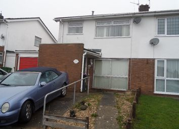 Thumbnail 3 bed semi-detached house for sale in St Benedict Close, Griffithstown, Pontypool