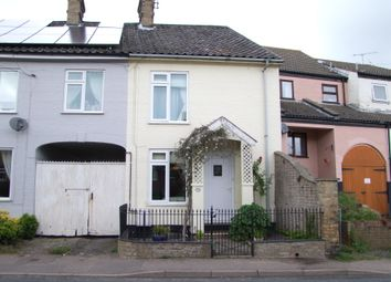 Thumbnail 3 bed end terrace house for sale in Mill Road, Saxmundham, Suffolk